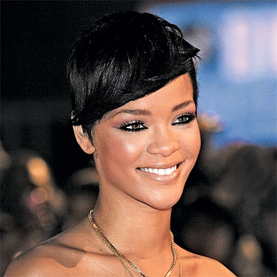 Rihanna new short haircuts and hair color trends
