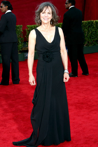 Sally Field, in Temperley London with Martin Katz jewels.