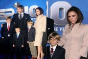 The Beckham's at the BBC Sports Personality Awards