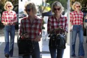 January Jones: Street Fashion