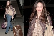 Emmy Rossum: Street Fashion