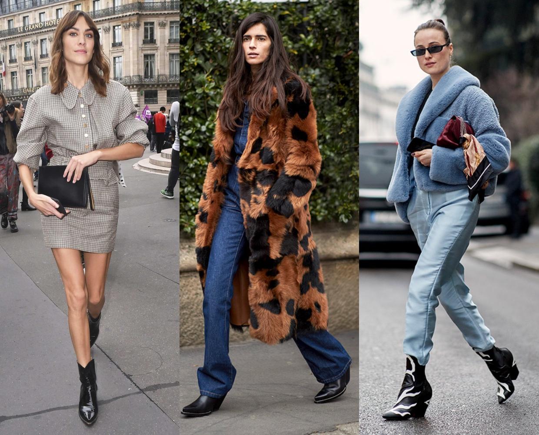 e5e11c6620e Οι πιο γνωστές fashionistas επιλέγουν είτε καουμπόικες μπότες μέχρι τη μέση  της γάμπας είτε μέχρι πάνω από τον αστράγαλο και συνήθως προτιμούν μέτριο  ...