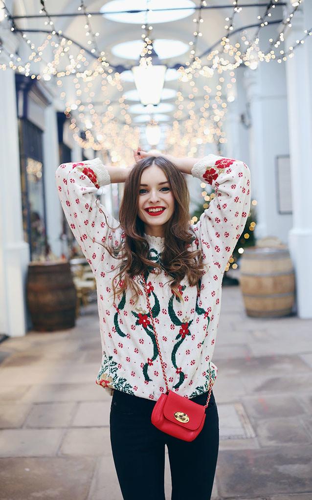 χριστουγεννιάτικο πουλόβερ